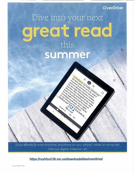 your access to great e-reading all summer…