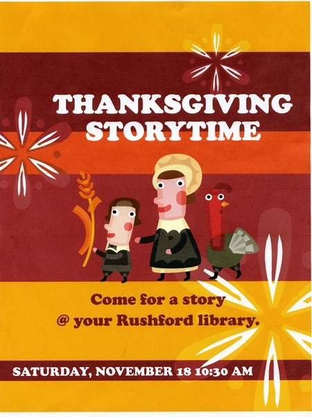 Thanksgiving Storytime