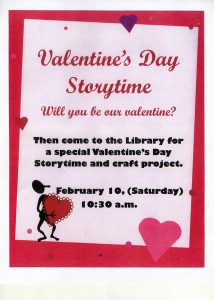 Storytime on Saturday