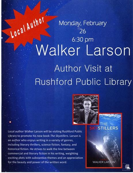 Author Visit!