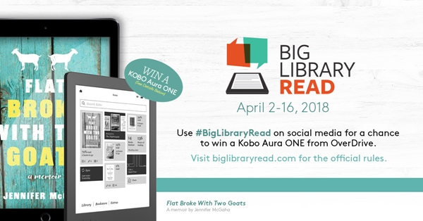 the BIG library read-starts 2 April