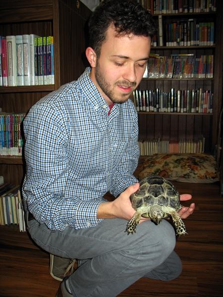 Author Walker Larson visit