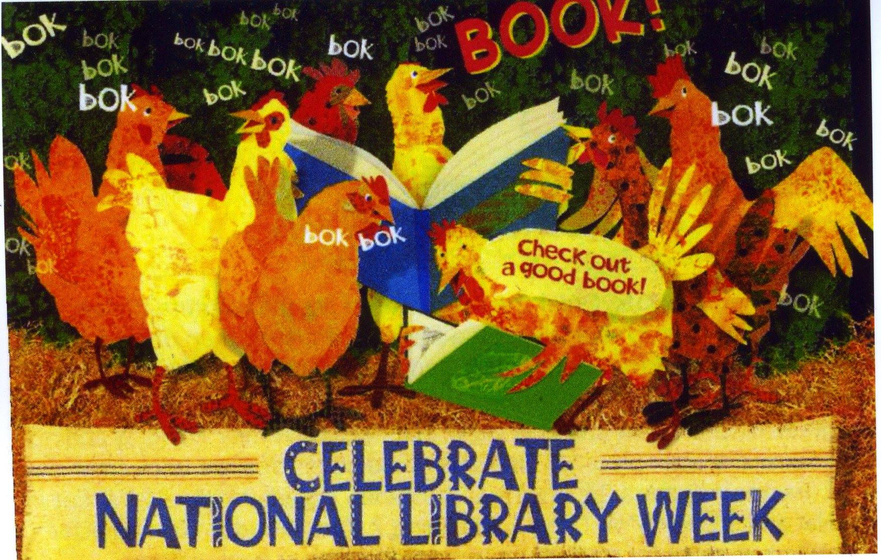 Celebrate having a library