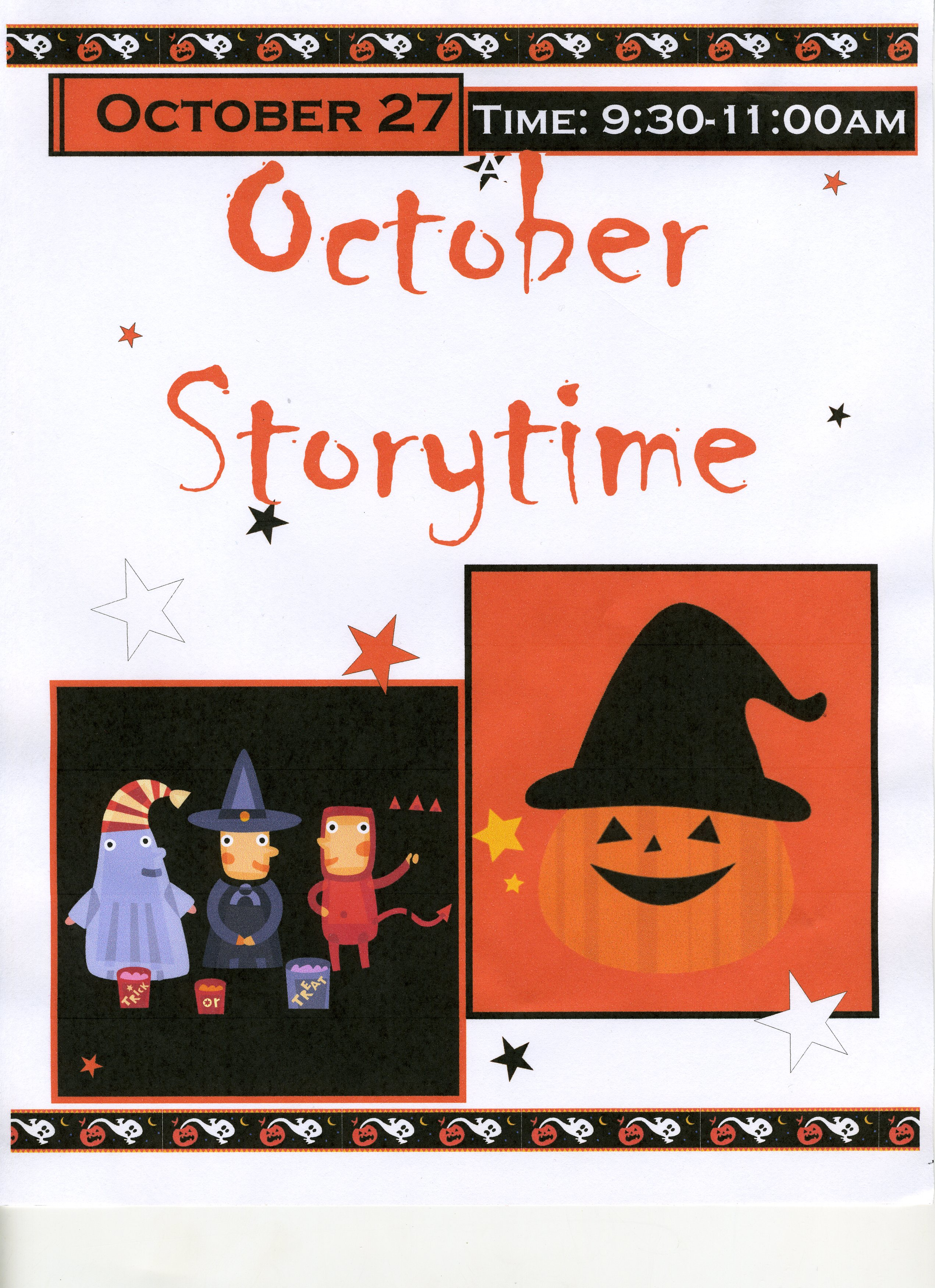 October Storytime
